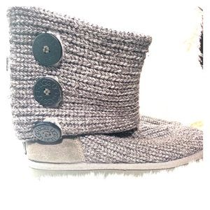 UGG Classic Cardy knit boot